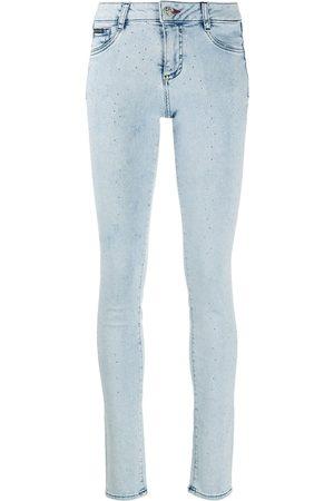Philipp Plein Skinny-jeans med strass