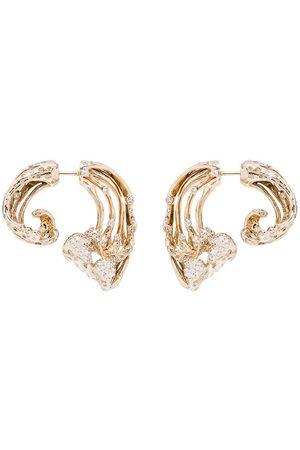Bibi van der Velden Diamantörhängen i 18 K gult guld