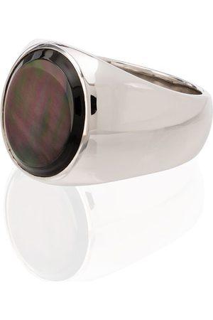 TOM WOOD Man Ringar - Pärlemorsring i sterling silver