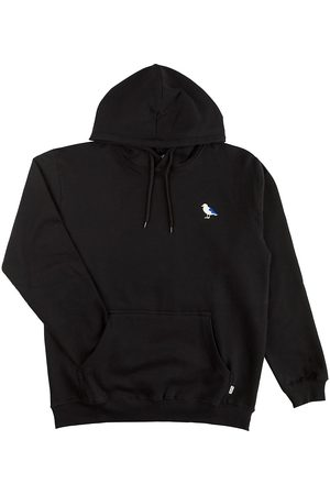 Cleptomanicx Embro Gull Hoodie black