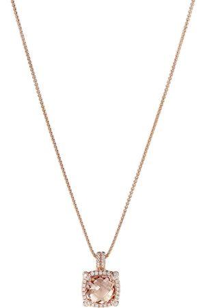 David Yurman Kvinna Halsband - Diamanthalsband i 18K roséguld