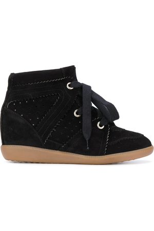 Isabel Marant Bobby sneakers med kilklack