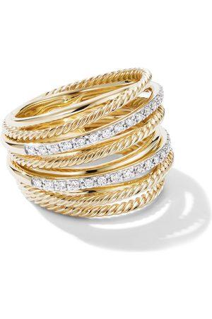David Yurman Ring i 18K gult guld