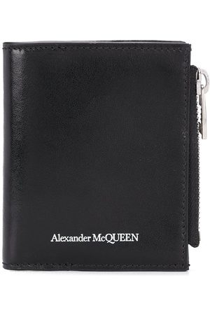 Alexander McQueen Man Plånböcker - Logo-print wallet