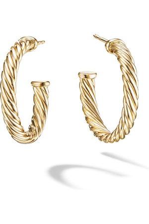 David Yurman Kvinna Örhängen - öronringar i 18K gult guld