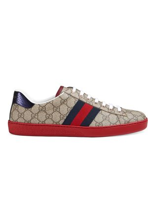 Gucci Man Sneakers - Men's Ace GG Supreme sneaker