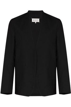 Maison Margiela Collarless single-breasted blazer