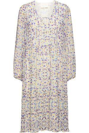 Notes Du Nord Kvinna Mönstrade klänningar - Plaza Recycled Dress Knälång Klänning Multi/mönstrad