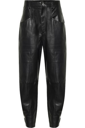 Isabel Marant Xiamao high-rise leather pants