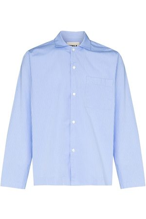 Tekla Fabrics Pyjamasskjorta i organisk bomull