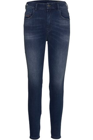 Diesel Kvinna High waist - D-Slandy-High L.32 Trousers Skinny Jeans Blå
