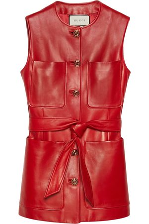 Gucci Kvinna Västar - Plongé väst med utanpåliggande ficka