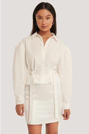 NA-KD Oversize Skjorta Med Markerad Midja