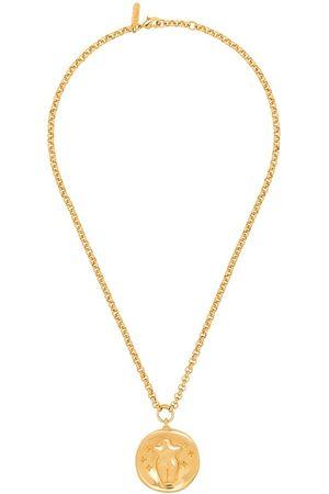 Chloé Gold-plated figure pendant necklace