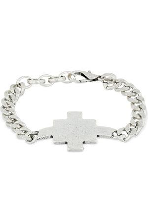 MARCELO BURLON Cross Logo Chain Bracelet