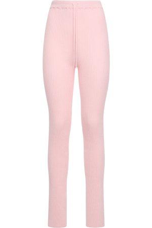 MARQUES'ALMEIDA Viscose Blend Knit Sweatpants