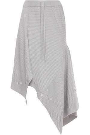 MARQUES'ALMEIDA Kvinna Midikjolar - Asymmetric Viscose Blend Knit Midi Skirt