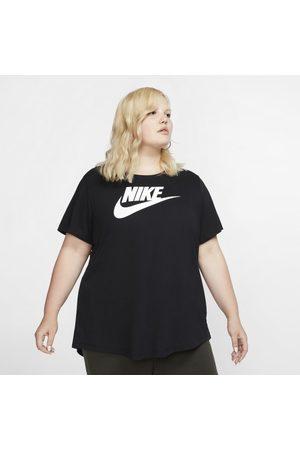 Nike Kvinna Kortärmade - T-shirt Sportswear Essential för kvinnor (stora storlekar)