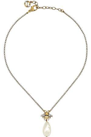 Gucci Halsband med pärlsmycke