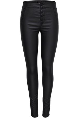 Only Coated Leggings Kvinna