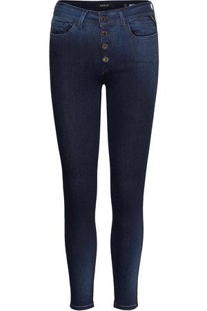 Replay Kvinna Slim - Luzien Slimmade Jeans
