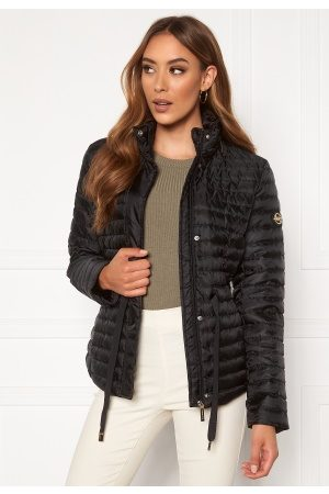 Michael Kors Belted Puffer Jacket Black S