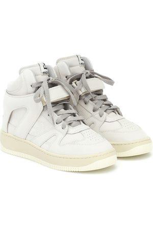 Isabel Marant Kvinna Sneakers - Brooklee leather high-top sneakers
