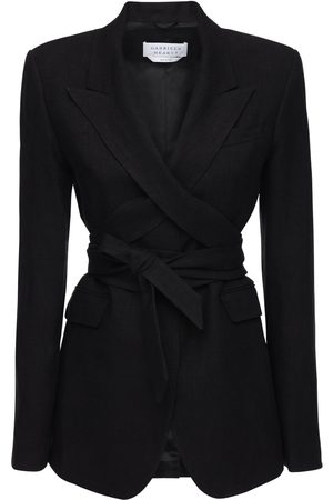 GABRIELA HEARST Textured Linen Jacket