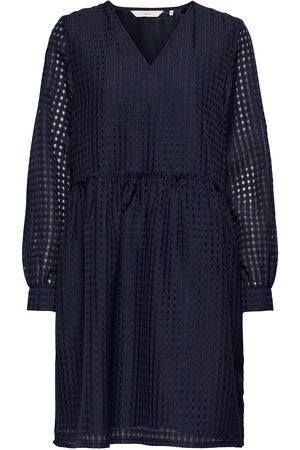 Numph Nubahia Dress Knälång Klänning Blå