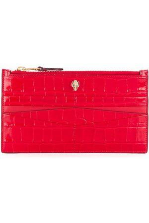 Alexander McQueen Flat zip wallet