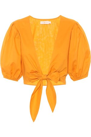 Tory Burch Kvinna T-shirts - Cotton top