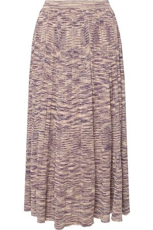 ULLA JOHNSON Marlie skirt with lurex trim