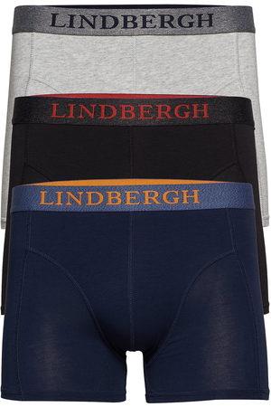 Lindbergh Bamboo Boxers 3 Pack Boxerkalsonger Blå