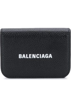 Balenciaga Liten plånbok med logotyp