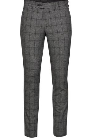 Selected Slhslim-Carlo Cotflex Pants B Noos Kostymbyxor Formella Byxor
