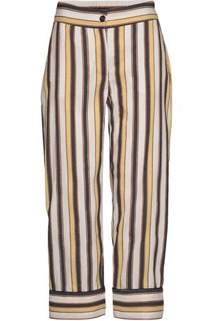 Coster Copenhagen Pants W. Piping Vida Byxor Brun