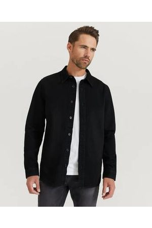 William Baxter Man Jeans - Jeansskjorta Heavy Denim Shirt