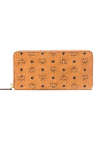 MCM Visetos stor plånbok med dragkedja