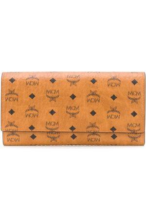 MCM Visetos plånbok med tryck