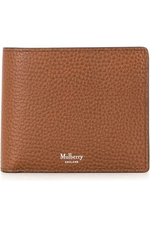 MULBERRY Dubbelvikt plånbok med logotyp