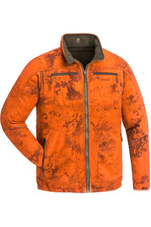 Pinewood Man Fleecejackor - Men's Red Deer Camou Fleece Jacket