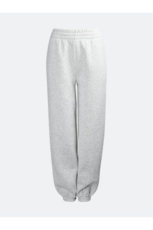 Bik Bok Mega oversized sweat trousers - Ljusgrå