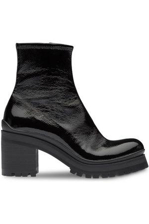 Miu Miu Block heel ankle boots