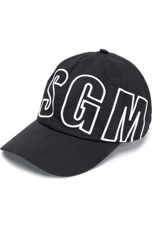 Msgm Flocked logo baseball cap