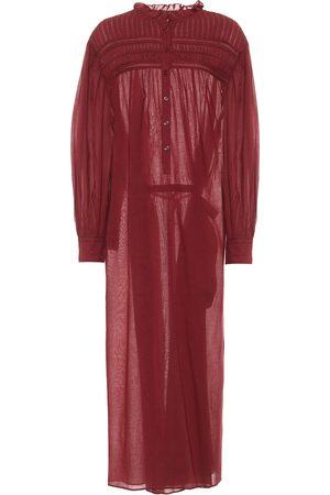 Isabel Marant Perkins cotton voile maxi dress