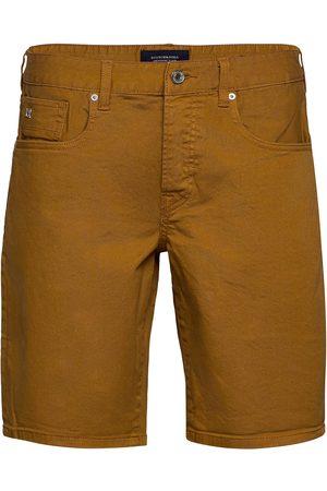 Scotch&Soda Man Shorts - Ralston Short - Garment Dyed Colours Jeansshorts Denimshorts