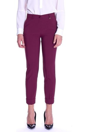 Luckylu Trousers With Turn UP