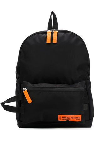 Heron Preston Man Ryggsäckar - Logo patch top handle backpack