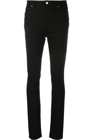 Acne Studios Peg Blk high-rise skinny jeans