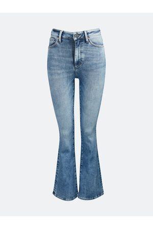 Never denim Peachy Flare Strike jeans